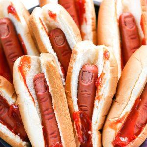 Halloween party food ideas - finger food