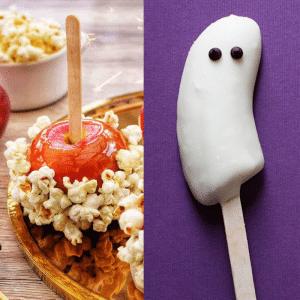 Halloween party food ideas - brains on sticks