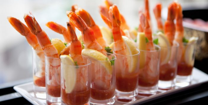 Elegance at Your Fingertips; Beautiful Buffet Food for Your Party
