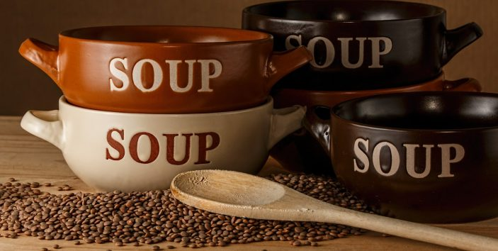 Perfect comfort food –  yummy soups for everyone